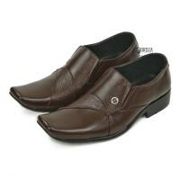 Sepatu Pantofel Pria Formal Kulit Asli Outsole Karet Fordza F662CK