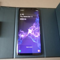Samsung galaxy S9 plus 256GB SEIN Black