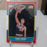 kartu basket, nba card, adams fleer 97 original