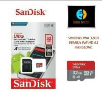 Micro SD Card Sandisk Ultra A1 - 32 GB