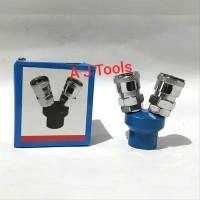 Quick Coupler - Kopler - sambungan konektor Cabang 2-SMV 2 tools top
