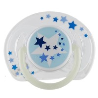 Empeng Bayi Avent Night Time Orthodontic Pacifier 6-18 Hot Sale