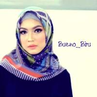 Kerudung Deenay kw Bueno biru