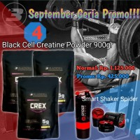 BLACKCELL CREATINE POWDER 900GRAM free shaker