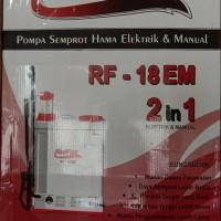 Red Fox Electric Sprayer Pompa Semprot Hama Elektrik Manual RF 18EM