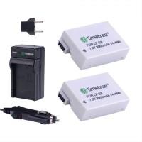 Smatree Battery Kit for Canon LP-E8