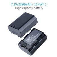 Smatree Baterai Sony NP-FZ100 NPFZ100 FZ100 A9 A9S A9R A7iii A7Ri