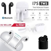 New - Headset Bluetooth i7s Wireless Sport True Earphone