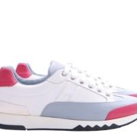 Hermes Multi Color Leather Quicker Sneaker (Preloved)
