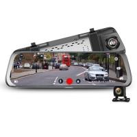 Junsun A910 Mirror Dash Camera 1080P Rear Camera Dashcam Parking Mode