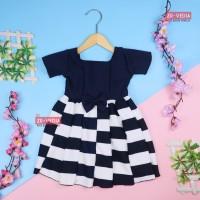 Dress Nadine uk 1-2 Tahun / Dress Pesta Anak Perempuan Gaun Polos Dres