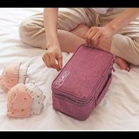 PANACHE 3 Layer UnderWear Travel Bag Organizer, Tas Pakaian Dalam BOOM