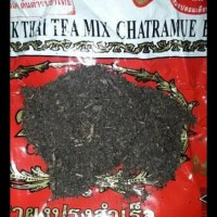 THAITEA THAI TEA BRAND CHATRAMUE NUMBER ONE BRAND TEA THAILAND 400 GR