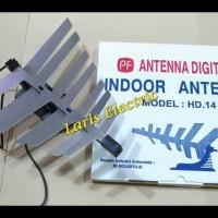 ANTENA /ANTENNA TV DIGITAL DALAM INDOOR MODEL PF HD.14 HD14 HEMAT