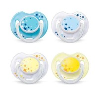 Empeng bayi / pacifier avent ortho soother night time isi 2pcs