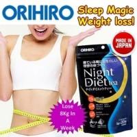 ORIHIRO NIGHT DIET TEA TEH PELANGSING JEPANG BEST SELLER