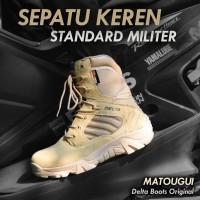 Sepatu Delta 516 8 Inch Boots Tactical Pdl Asli Import / Sepatu Gunung