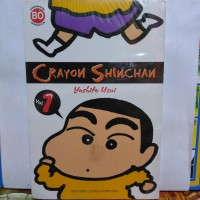 komik crayon shincan vol 1 segel