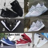 Adidas Alphabounce size 36 - 43 sepatu pria olahraga sekolah hitam