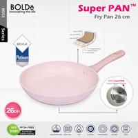 BOLDe SUPERPAN FRY PAN - Panci Penggorengan dgn GRANITE COATING 26 cm