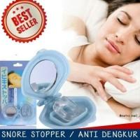 Snore Stopper adalah alat untuk mengurangi suara dengkuran. Snore Stop