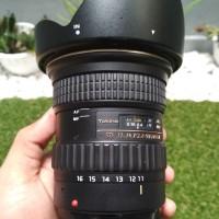 Lensa tokina 11-16mm f/2.8 for canon Seken