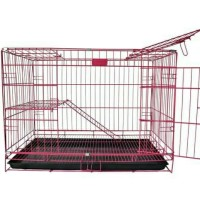 Kandang Kucing Kelinci Tingkat Dua Lantai Size L Ukuran 75 x 45 x 50
