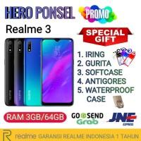 REALME 3 RAM 3/64 GB GARANSI REALME INDONESIA