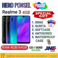 REALME 3 RAM 4/64 GB GARANSI RESMI REALME INDONESIA