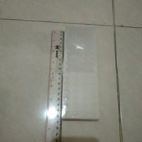 Miniso pencil case,box plastik utk pena,kotak pensil,18.2x6.2x2.5cm