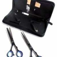 Koryu Nikko Scissors Gunting Rambut Paket SK6-60 Hitam