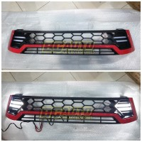 GRILL TRD HILUX 2016 - REVO 2018 WITH DRL LAMP