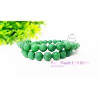 Batu alam Natural stone Simple doff 8mm hijau tua