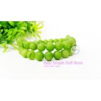 Batu alam Natural stone Simple doff 8mm hijau muda