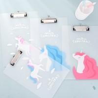 Dream Unicorn Document Clipboard A4 / Papan Ujian / Tempat Kertas A4