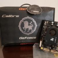 VGA GeForce Calibre 8600GT PCI-E 16x 512mb GDDR3 128bit