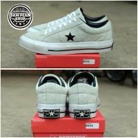 Sepatu converse one star grey white original premium vietnam BNIB
