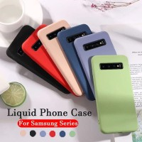 CASE SAMSUNG S10 PLUS SOFT CASE LIQUID SILIKON LEMBUT CANDY