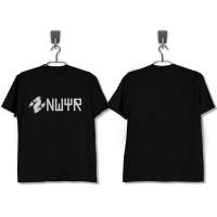 Kaos Baju Obral Combed 30S Distro NWYR DJ EDM polos custom Obral Murah