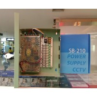 Power Supply CCTV 10A Box ( Merek SPC )