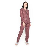 MOSIRU Piyama Wanita Setelan Baju Tidur Pajamas Termurah PP 105C