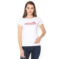 MOSIRU Kaos Atasan Cewe Spandek Premium Baju Wanita Indonesia