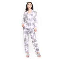 MOSIRU Piyama Wanita Setelan Baju Tidur Pajamas Termurah PP 104D
