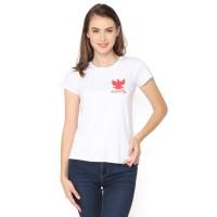 MOSIRU Baju Cewe Spandek Premium Atasan Kaos Wanita Indonesia