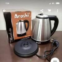 Ketel teko listrik ceret electric 1 5liter ARASHI