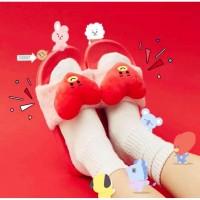 Sandal Selop Kpop BTS bt21 Kartun untuk Musim Panas