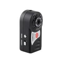 1Pc Kamera CCTV Security Micro Mini WiFi Wireless Warna Hitam P2P