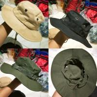 topi rimba topi gunung topi outdoor topi coboy topi pemulung bucket