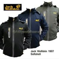 Jaket Gunung Outdoor Jack Wolfskin 1907 Softshell Water