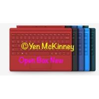 Ready Stock !!! Microsoft Surface Pro 4 Keyboard pilih warna - Biru